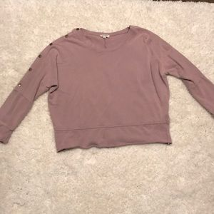 Sweatshirt - rose colored